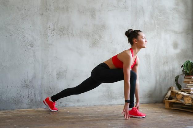 Kobieta uprawiająca fitness